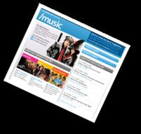 /music homepage