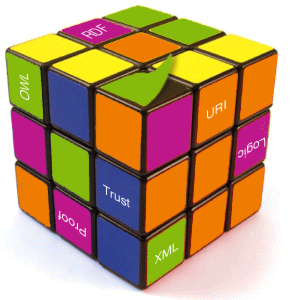 """Semantic Web Rubik's Cube"" by dullhunk. Some rights reserved."